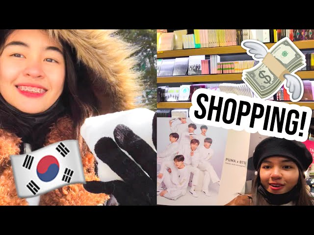SHOPPING SA KOREA! KPOP & MORE! 💸