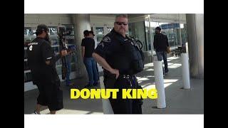 ONTARIO CALIFORNIA... AIRPORT WORKERS LOSE IT COPS CALLED