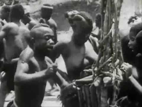 African drumming from 1930 - original sound!