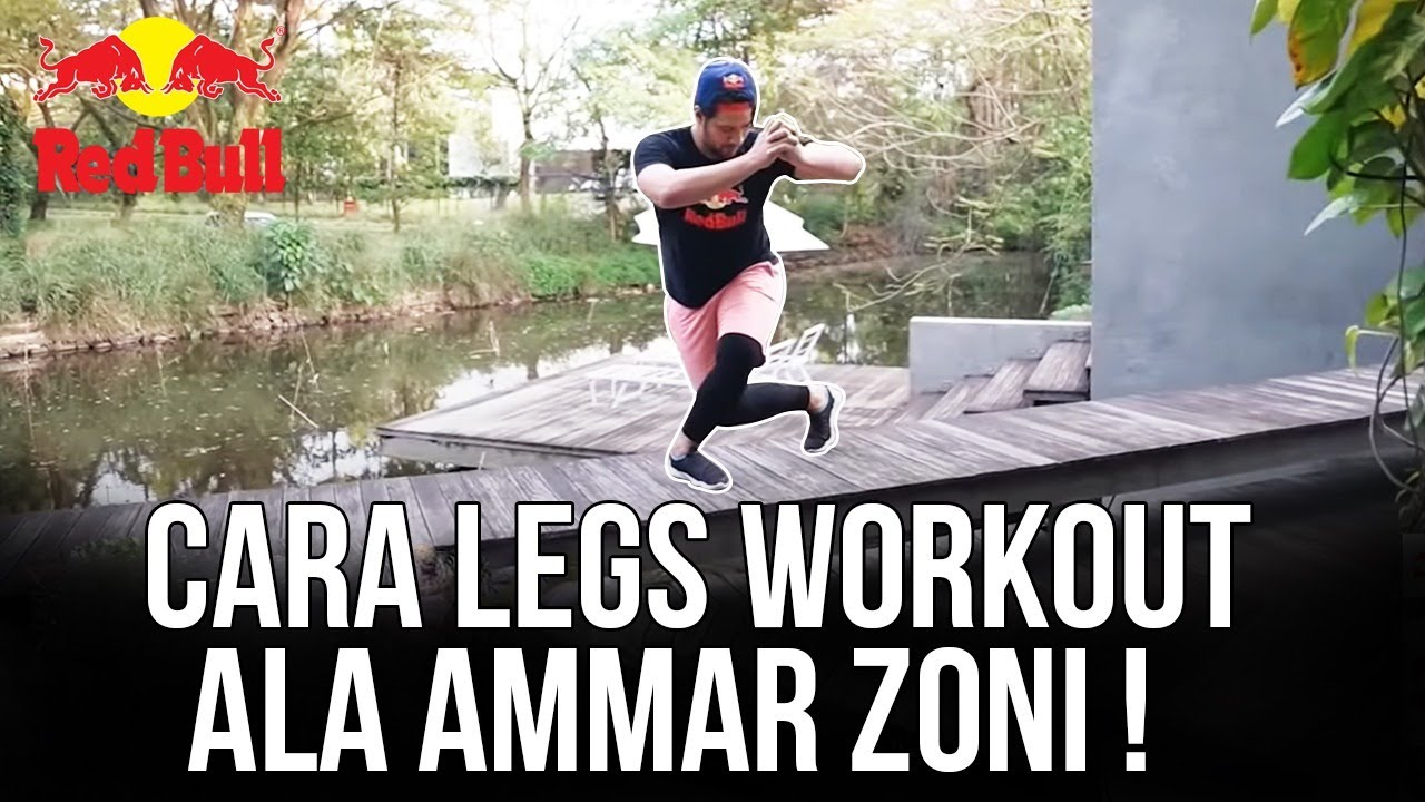 RED BULL GOLD WORKOUT AT HOME : Legs workout feat Ammar Zoni