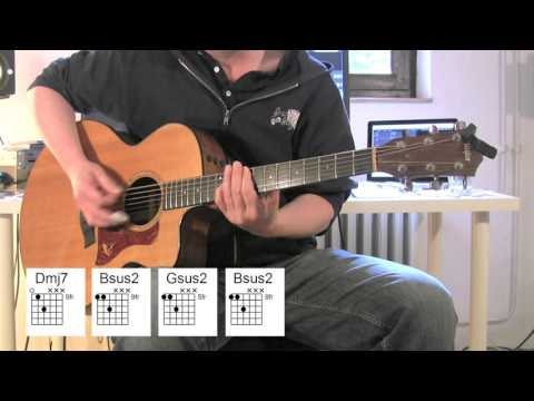 Everlong - Acoustic Guitar, chords, original vocals, Foo Fighters