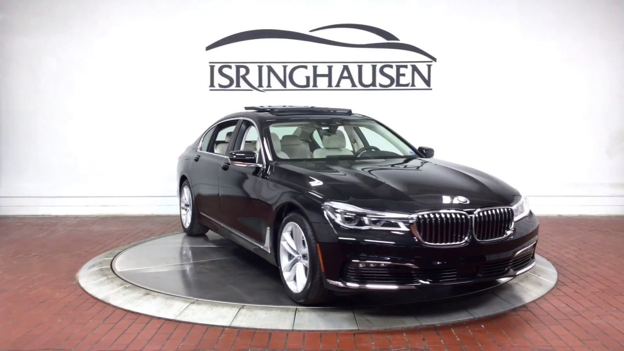 2018 Bmw 7 Series 750i Xdrive In Black Sapphire Metallic 238702