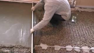 видео Стяжка на деревянный пол