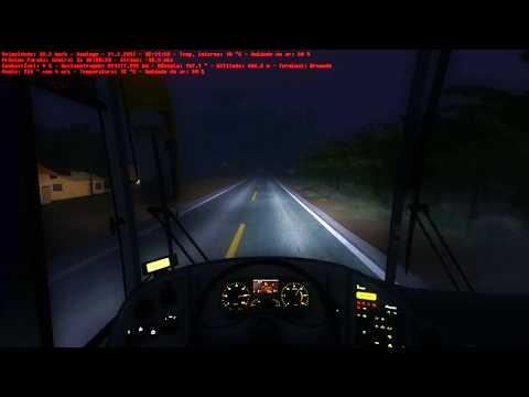 OMSI 2 - Livramento x Brumado - Marcopolo G6 1200 - Mapa: Brasil Viagem Bahia.