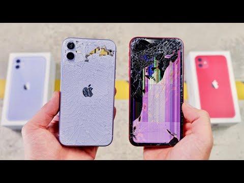 IPhone 11 Vs XR DROP & BEND Test! Thinner Toughest Glass