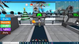 Weight Lifting Simutalor (Roblox) Grind For Monster 10K!