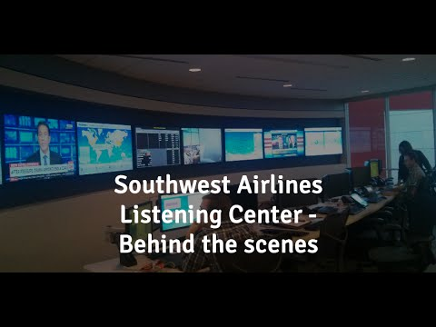 social southwest airline Inside southwest airlines' social media listening center, where employees interact with nearly 2,000 people a day.
