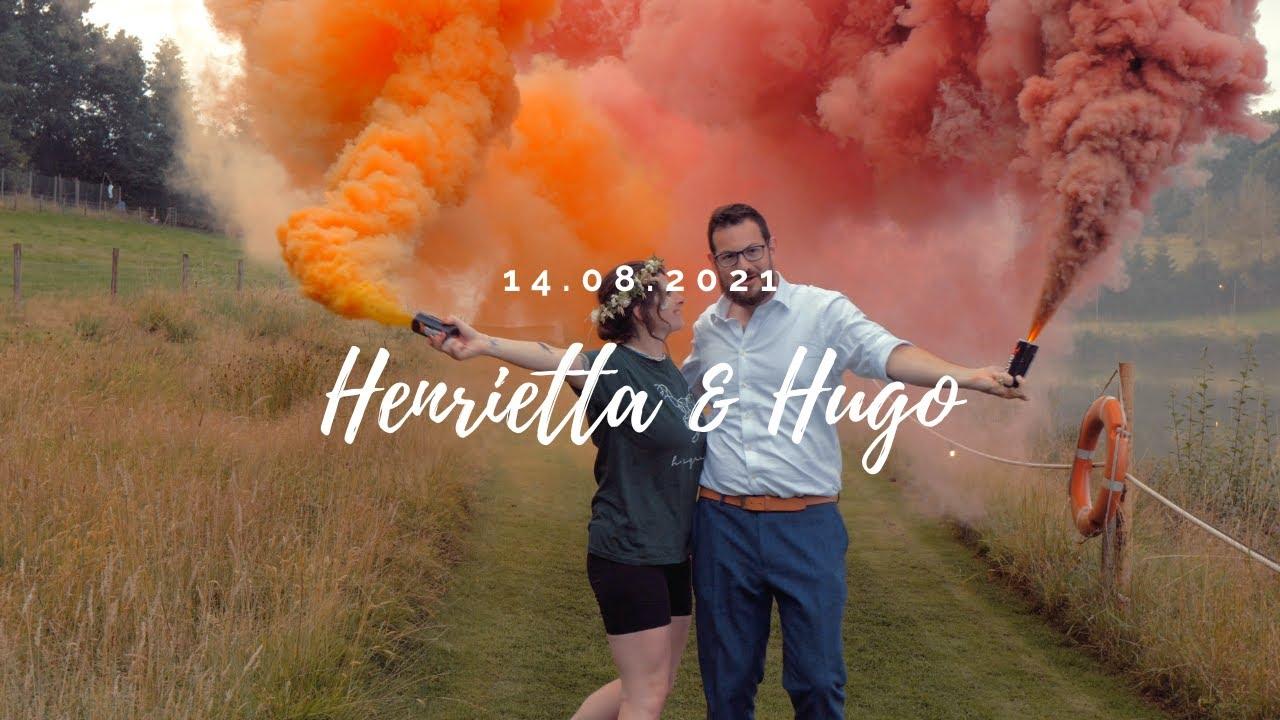 Epic Wedding Teaser Trailer | Henrietta, Hugo & The T-Rex Outfits