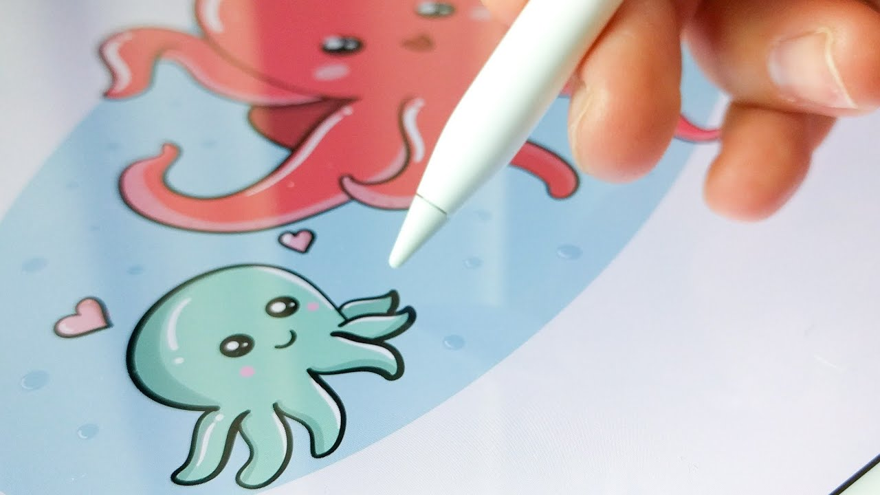 Image result for adobe draw octopus