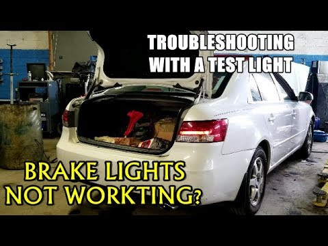 Brake Lights Not Working 2005-2009 Hyundai Sonata