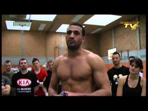 Badr Hari seminar part 1-7 | Kickboxing