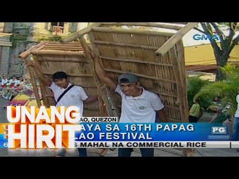 Unang Hirit: 16th Papag at Bilao Festival sa Pagbilao, Quezon, dinayo ng 'Unang Hirit'