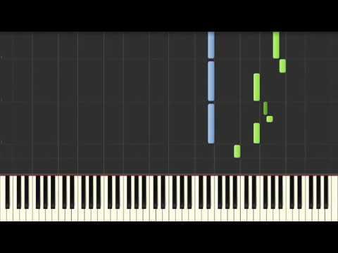 Как играть гарри поттера на пианино схема