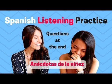 Spanish Practice: Preterite vs. Imperfect [Listening Comprehension Activity - 2] (2018)🆕