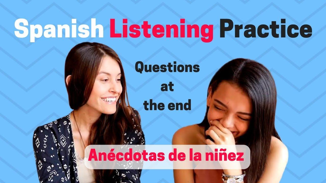 Spanish Practice: Preterite vs. Imperfect [Listening Comprehension ...