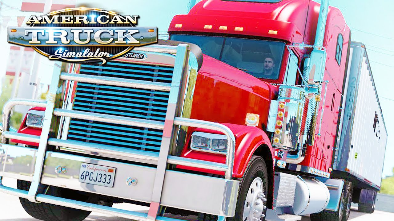 American Truck Simulator #11 - First Accident - YouTube