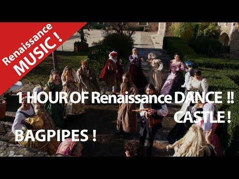 Medieval Renaissance Music and Dance ! 1 hour of middle ages History