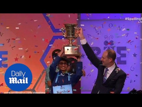 Texas boy wins National Spelling Bee after spelling 'koinonia' - Daily Mail