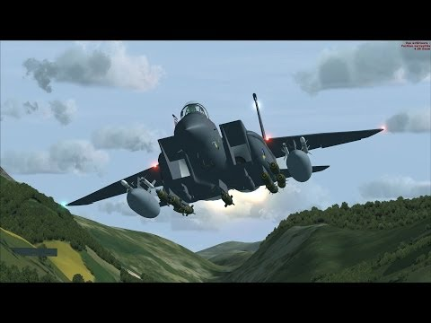 FSX F-15 at Mach Loop [AWESOME REALISM+GRAPHICS]