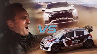 Mitsubishi Phev Vs Rally Car: The Ultimate Race Advert