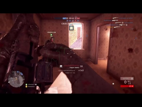 Battlefield 1: Medic only gameplay
