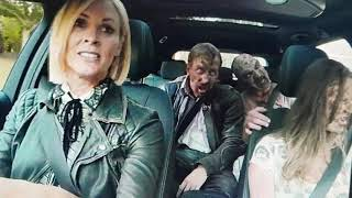 ITV Halloween Competiton starring Jenni Falconer with Zombies