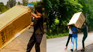 Prank : On Road | Outside Prank | Funny Prank |