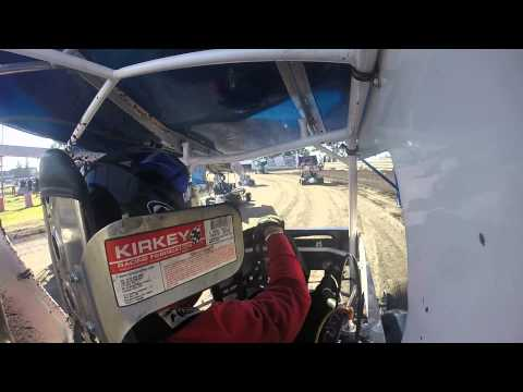 Outlaw Karts at Cycleland Speedway 5/9/15 mud-in