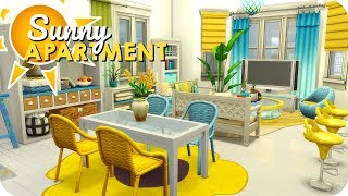 SUNNY APARTMENT ☀️ | Sims 4 Speed Build