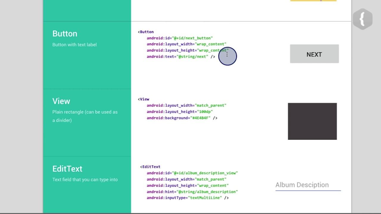 Учимся исправлять ошибки XML кода курс Android Basics