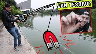 Pescando con un super iman II Encontramos varias cosas II Pongamoslo a prueba