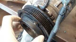How to check A/C compressor clutch