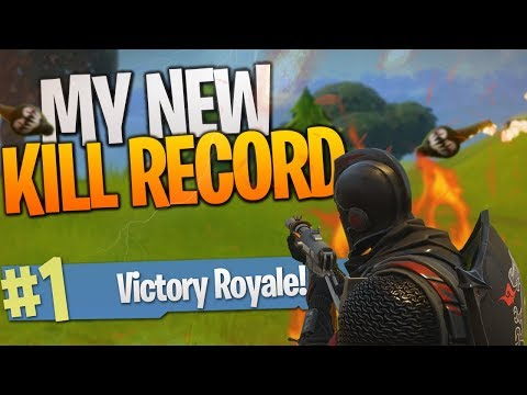 My BEST Game! I Broke My Kill Record AGAIN! - PS4 Fortnite B