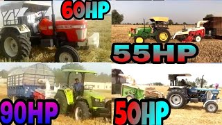 Swaraj 963, New Holland 3630, JohnDeere 5310,Preet 9049