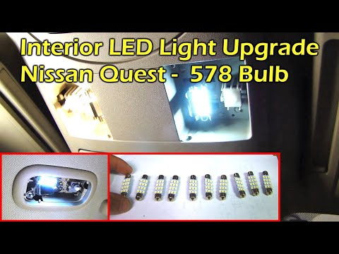 How to replace install led interior light in car youtube Led glow interior lights installation