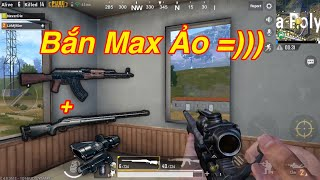 PUBG Mobile | Duo Cùng Gái || AKM + M24 4X Scope Lấy TOP 1 √