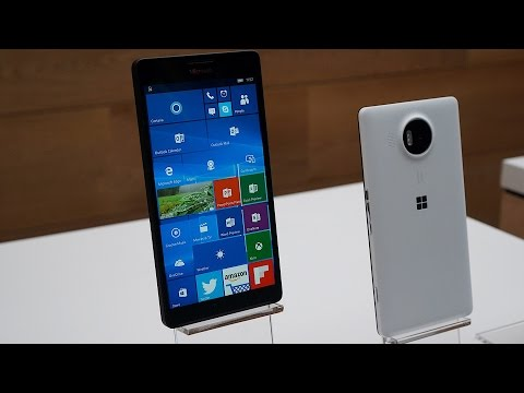 Microsoft's Lumia 950 and 950 XL hands-on