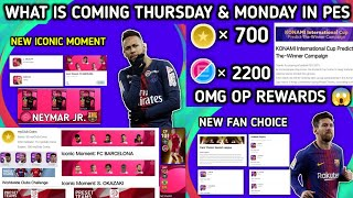 What is Coming Thursday 22 July & Monday 26 July In Pes