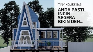 Rumah Mungil Tiny House 4x6 M