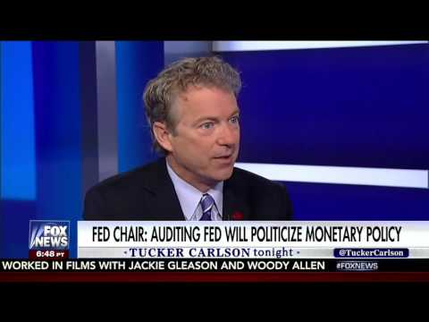 Donald Trump Supports Rand Paul's Audit the Fed Bill