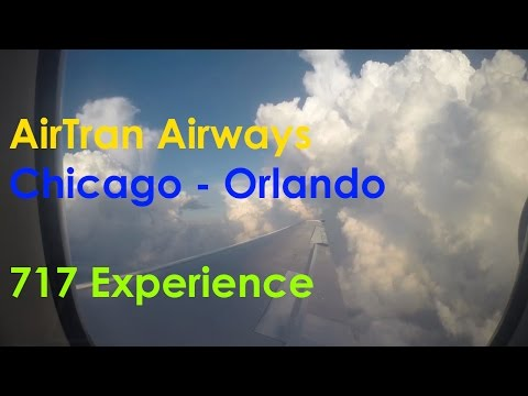 AirTran Airways 717-200 Experience - Chicago to Orlando