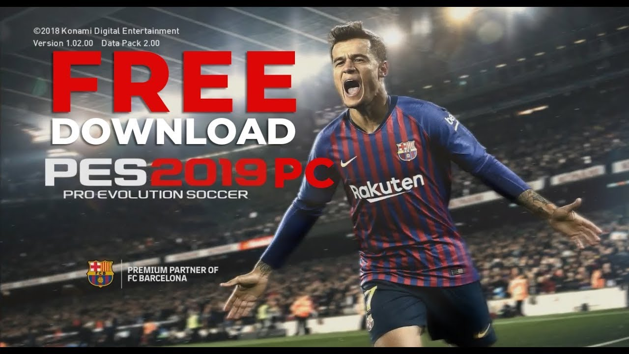 free download pes 2019 for pc igg games