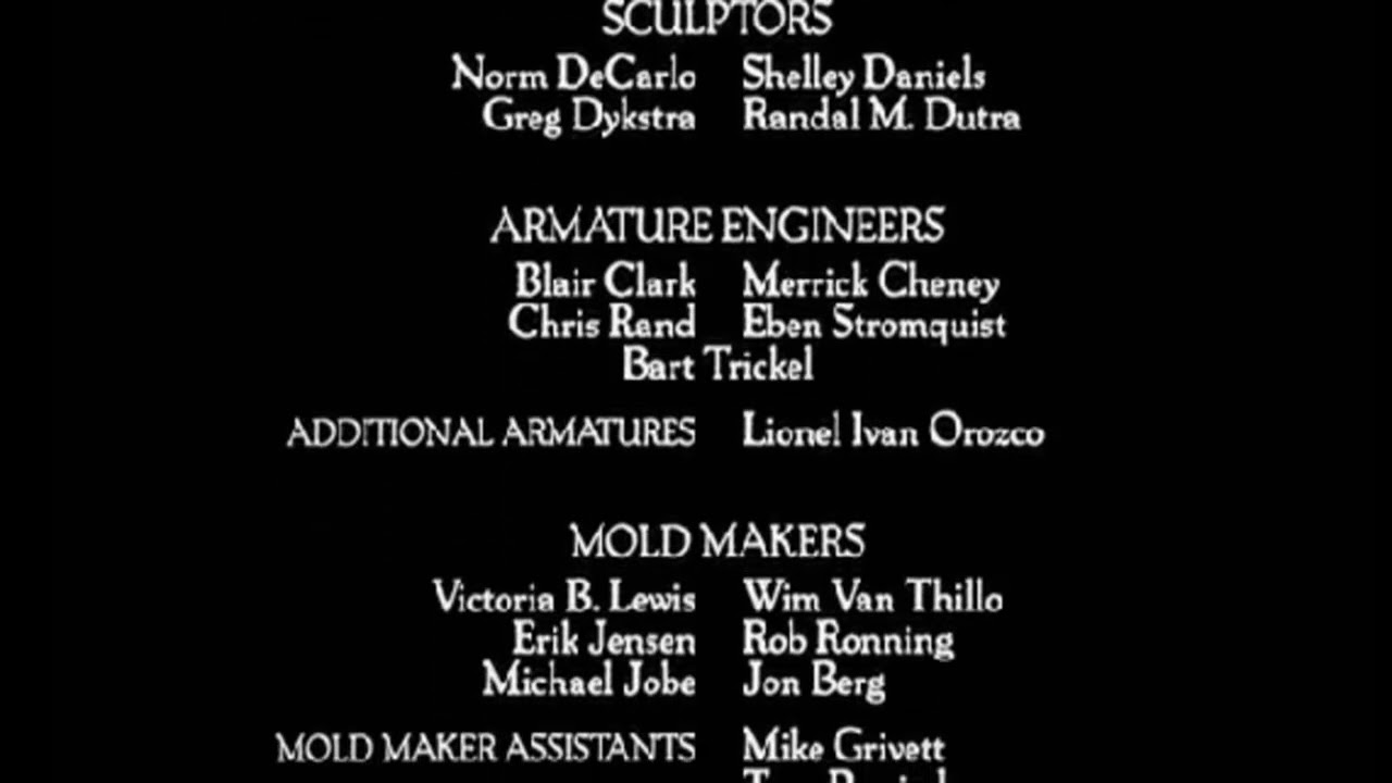 Ending Credits to The Nightmare Before Christmas Extra Bouns Song ...