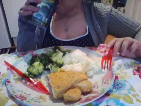 Asmr Eating Sounds Chicken Kiev Youtube