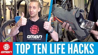 Top 10 Mountain Bike Life Hacks