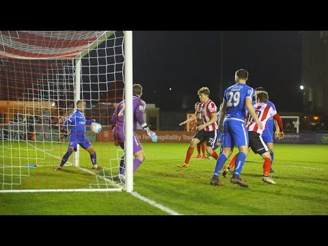 Lincoln City 3 Guiseley 1 (2016/17) - Goals