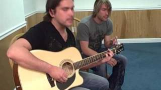 "Aranda ""Still in the Dark"" (Acoustic) @ Rock105"