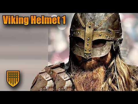 How to make Armor: MAKING A FULL STEEL VIKING HELMET!!!  Part 1