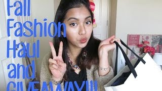 Fall Fashion Haul & GIVEAWAY!! (closed) Thumbnail