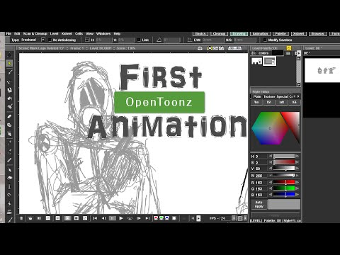 Opentoonz - Your First Animation